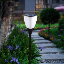 Solar Garden Lights Lowes The Gardens