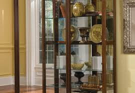 Curved Glass Curio Cabinet by Notable Image Of Cabinet Battle Ideal Furniture Store