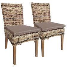 rattanstuhl esszimmer stuhl set 2 stück esszimmer stühle
