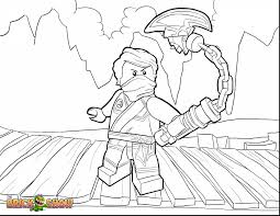 Amazing Lego Ninjago Lloyd Coloring Pages Printable With And