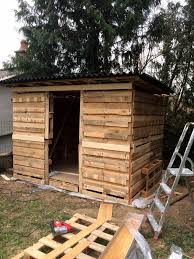how to build a pallet shed step by step