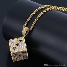 100 Where Is Dhgate Located Mens Necklace Hip Hop Jewelry With Zircon Iced Out Chains Vintage