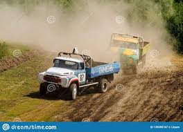 100 Racing Trucks Sport On Unpaved Track Editorial Photography