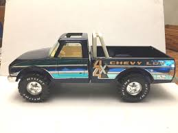 VINTAGE 1970'S NYLINT 4x4 CHEVY LUV DIESEL PICKUP TRUCK ~ 14