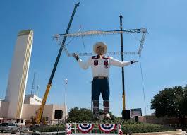 Big Tex The 55 Foot Tall Symbol Of State Fair Texas