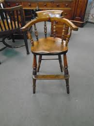 Child's Bow High Chair - Heathcote Antiques
