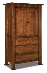 Armoires, Amish Furniture, Wana Cabinets - Shipshewana, IN Armoires Wardrobes Bedroom Fniture The Home Depot This Craftsman Style Armoire Is Featured In A Solid Wood With Vintage Used Chairish Hand Made Rustic Computer Armoire By Lone Star Artisans 56 Off Wood Drawers Storage 45 Nadeau Custom Custmadecom Crafted Adirondack Cabinet With Owl Carvings Pine Wardrobe From Dutchcrafters Amish Living Room Gorgeous Design Of Traditional Brown Western Decor And