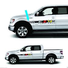 100 Ford Truck Decals Product 4x4 Fx4 Bed For F150 And Super Duty