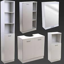 550x300mm Quartz Gloss White Built In Basin Cabinet