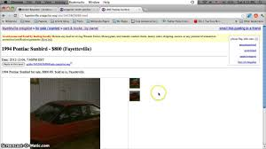 Craigslist Fayetteville NC Used Cars For Sale - By Owner Deals ...