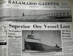 aqualog 35th anniversary of sinking of edmund fitzgerald