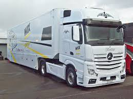 37 Mercedes Actros Race Car Transporter (2014) Ciceley Rac… | Flickr