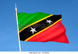 The Flag Of Federation Saint Kitts And Nevis