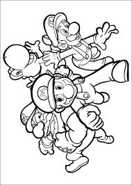 Full Image For Free Printable Coloring Page Super Mario Bros Pages Online