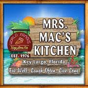 Mrs Mac s Kitchen Home Key Largo Florida Menu Prices
