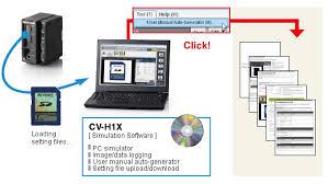 Keyence Light Curtain Manual Pdf by User Manual Auto Generator Pc Software Cv X Series Keyence