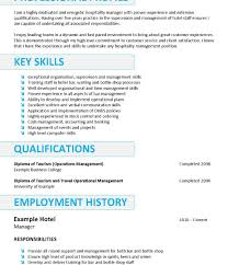 Chic Resume Objective Hospitality Job About Career Pleasant For Your Inside Examples