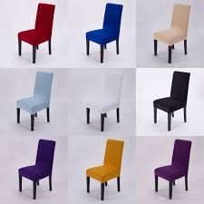 Spandex Lycra Fabric Chair Covers Sale Living Room Furniture Decoration For Events Office Home Universal Coverings Small Slipcovers Dining