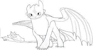 11 Pics Of Dragoart Toothless Coloring Pages