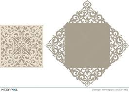 Laser Cut Envelope Template For Invitation Wedding Card Paper Cutting Patterns Free Download Pattern Illustration