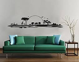 klebefieber 4248 wandtattoo safari erhältlich in 35 farben