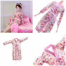 Detail Feedback Questions About NK 3 Items Set Pink Pajamas Gown