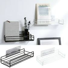 details zu küche badezimmer dusche regal wandhalterung ecke organizer aufbewahrung rack