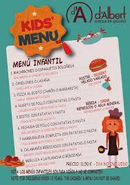 ▷ RESTAURANTE Menú Díario Especial Fin De Semana Ocio Niños Comer