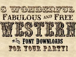 See 8 Best Images Of Western Lettering Fonts Old Style Free Cowboy Saloon