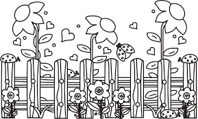 Coloring Pages Garden Fresh