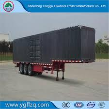 100 Truck Semi For Sale China Hot VanType Carbon Steel 3 Axles VanBox
