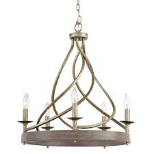 Pewter Chandeliers Lighting The Home Depot