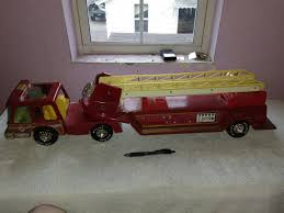 Nylint Metal Fire Truck | Collectors Weekly Kdw Diecast 150 Water Fire Engine Car Truck Toys For Kids Playing With A Tonka 1999 Toy Fire Engine Brigage Truck Ladders Vintage 1972 Tonka Aerial Photo Charlie R Claywell Buy Metal Cstruction At Bebabo European Toys Only 148 Red Sliding Alloy Babeezworld Nylint Collectors Weekly Toy Pinterest Antique Style 15 In Finish Emob Classic Die Cast Pull Back With Tin Isolated On White Stock Image Of Handmade Hand Painted Fire Truck