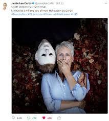 Halloween Jamie Lee Curtis Age by Happy 59th Birthday Jamie Lee Curtis Pophorror