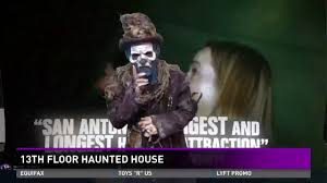 new attractions at san antonio s 13th floor haunted house youtube