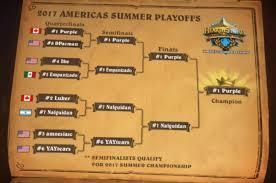 Meta Decks Hearthstone September by Hct Americas Summer Playoffs 2017 Deck Lists U0026 Results