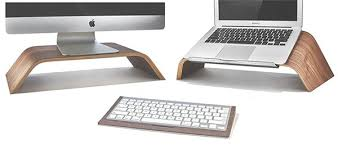 Laptop stand portable bed tray desk with fan