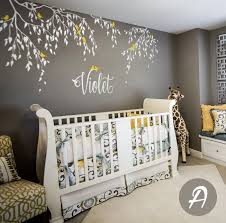 Wall Mural Decals Nature by Branches Wall Decals Birds With Custom Name Tree Vinyl Wall