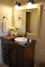 Small Rustic Bathroom Vanity Ideas by Clear Glass Aquarium Vessel Sink Floating 1000 Ideas About Antique