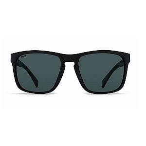 VonZipper Lomax Wildlife Polarized Sunglasses - Black Gloss and Vintage Grey, One Size