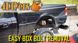 100 Truck Bed Bolts How To Remove Rusted Or Seized YouTube