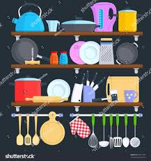 Stackable Cabinetcounter Helper Play S Free Download Clip Art Kitchen Shelf Clipart