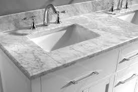 bathroom vanity tops with square sink virtu usa caroline 60 inch