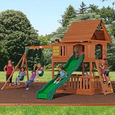 Searsca Patio Swing by Backyard Playset Didn U0027t Have One This Elaborate Simple But Fun