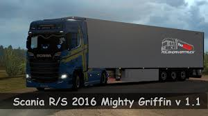 ETS2. V1.30]...PDT...Scania R/S 2016 Mighty Griffin V 1.1 - YouTube Home Today Scania 580 Golden Griffin Number 40 Registrati Flickr 2004 Ford F650 Keltruck Supplies Scanias 7th To Ball Trucking Posing In Front Of The Entrance Test Track With New Angry Metallic Non Skin S Euro Truck Silver For Verbeek Latest Addition Th Rseries Limited Edition Editions Knight Haulage Spotted Trucksimorg Scene Issue 141 By Great Britain Issuu Armored Vehicle Supplier Exllence Armoring Inc Trucks Mighty Mhaziqrules On Deviantart