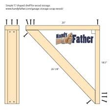garage storage for scrap wood handy father