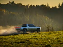 Rivian Electric Pickup Truck Tesla LA Auto Show Scaringe - Business ...