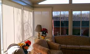 roll up sun privacy shades car port louisville ky services for