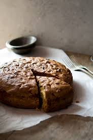Traditional And Authentic Italian Apple Olive Oil Cake Inside The Rustic Kitchen