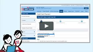Hdfc Bill Deskcom by How Can I Pay Credit Card Bill Online Hdfc Infocard Co